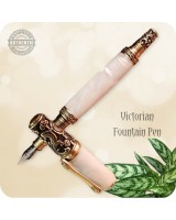 Victorian Fountain Pen - Custom Handmade